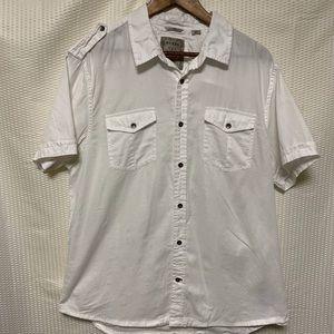 Guess Slim fit button down shirt size XL